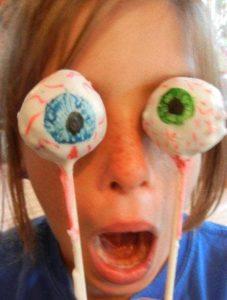 cake eye ball