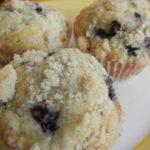 Blackberry Sour Cream Muffins