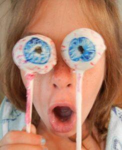 cake eye balls