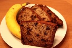Best Banana Chocolate Chip Bread
