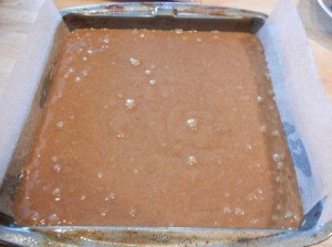 Old Fashioned Gingerbread Batter