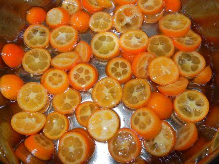 recipe candied kumquats