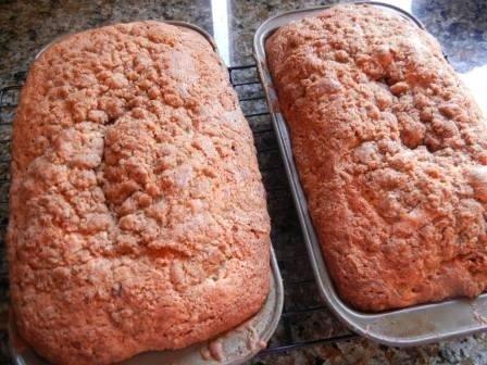 best Rhubarb bread recipe