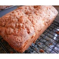 Rhubarb Streusel Quick Bread