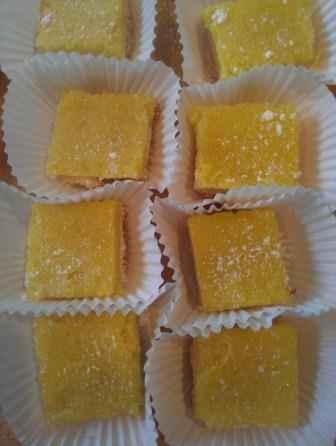 Recipe Lemon Bars- Scratch