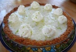 Lime Coconut Pie