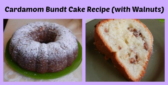 Cardamom Bundt Cake Recipe