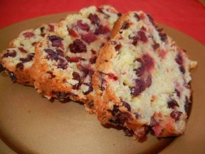 Easy Cranberry Orange Quick Bread