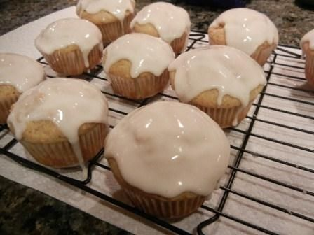 recipe Eggnog muffins