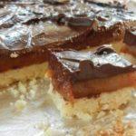 Millionaire Shortbread Bar Recipe… with Sea Salt
