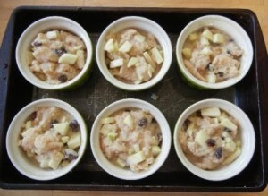 Best Apple Raisin Bread Pudding Recipe