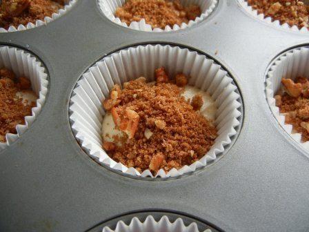 Cinnamon Coffee Cake Cupcakes
