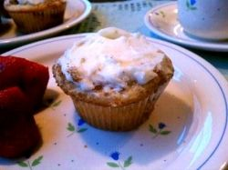 cinnamon coffee cake cupcakes
