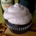 Chocolate Stout Cupcakes with Vanilla Buttercream