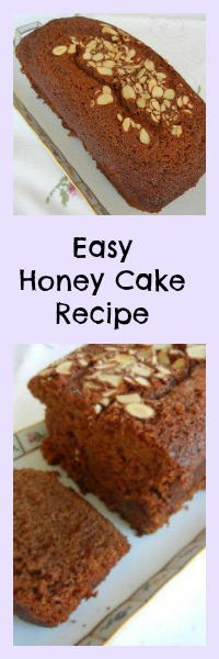 Easy Honey Cake Recipe