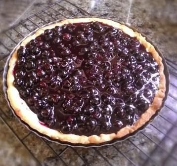 Blueberry Cheesecake Tart