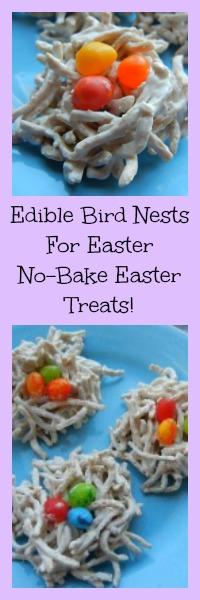 edible birds nest for easter