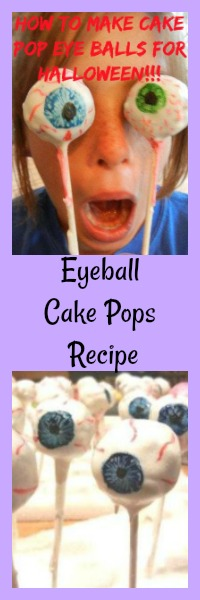 eyeball cake pops recipe