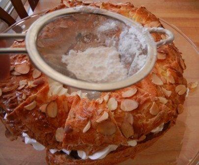 paris brest cake