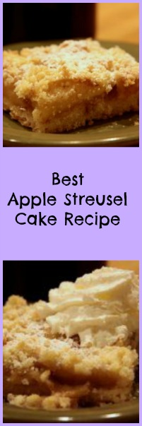 Best Apple Streusel Cake Recipe