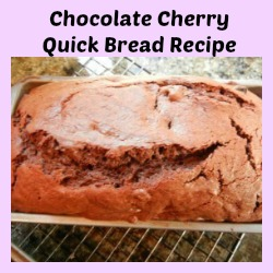 Chocolate Cherry Quick Bread Recipe