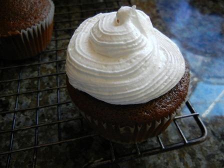 chocolate dipped cupcakes recipe