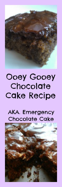 ooey gooey chocolate cake recipe