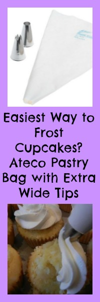 easiest way to frost cupcakes