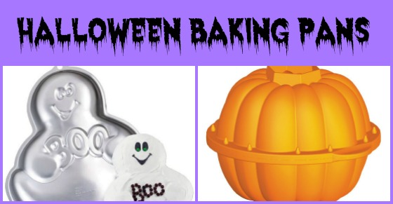 halloween baking pans
