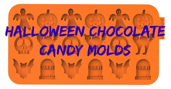Halloween Chocolate Candy Molds- Fun Spooky Molds for Your Halloween Chocolate!