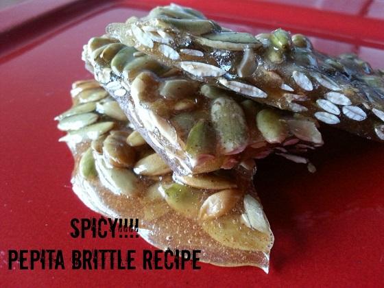 pepita brittle recipe