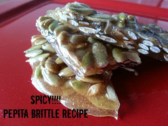 Spicy Pumpkin Seed Brittle Recipe