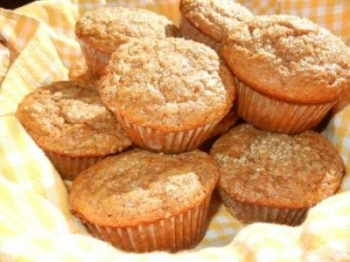 pumpkin chi muffins