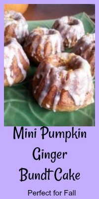 pumpkin ginger bundt cake