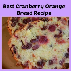 easy Cranberry Orange Bread Recipe