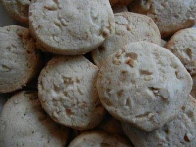 easy pecan shortbread cookie recipe