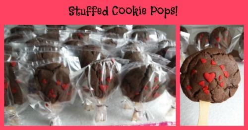 stuffed cookie pops
