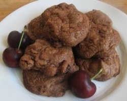 double chocolate Cherry cookie recipe