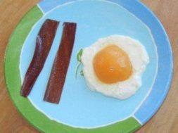 kindergarten bacon and eggs