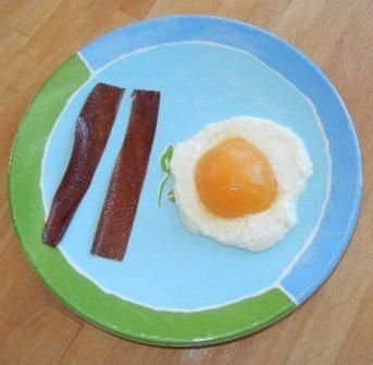 April Fool's Bacon and Eggs