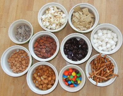 Kindergarten trail mix