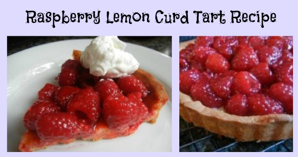 raspberry lemon curd tart recipe