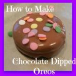 How to Make Chocolate Dipped Oreos