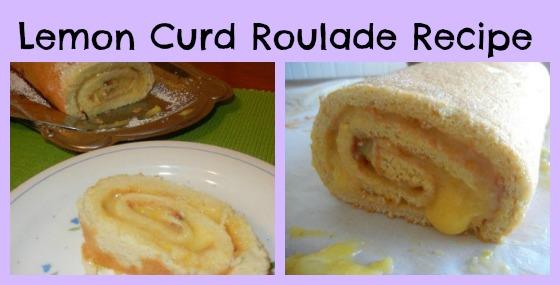Lemon Curd Roulade Recipe