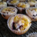 Berry and Lemon Curd Muffins