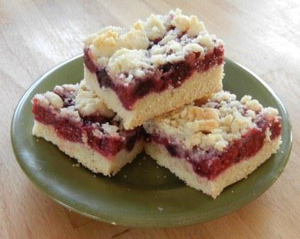 mixed Berry Bars recipe