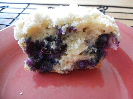 Best Blueberry Muffins Streusel Topping