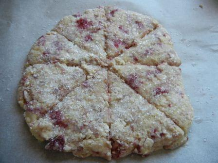 easy raspberry scone recipe