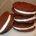 Chewy Chocolate Sandwich Cookies with Marshmallow Filling