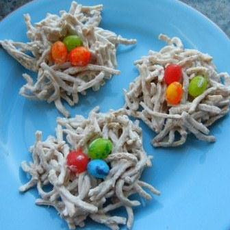 edible bird nests for easter